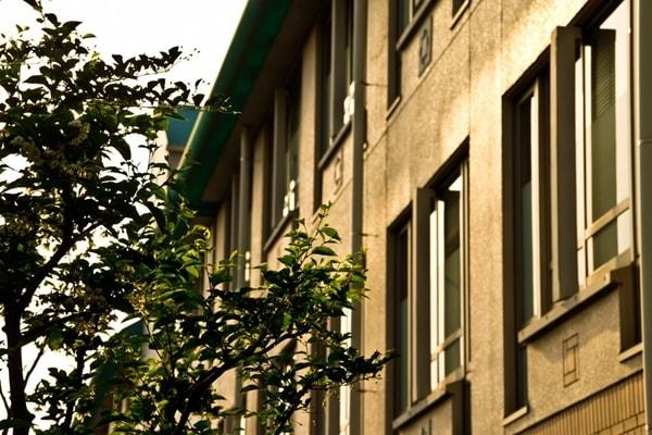 中学校の校舎