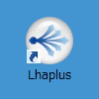 Lhaplusのデスクトップアイコン